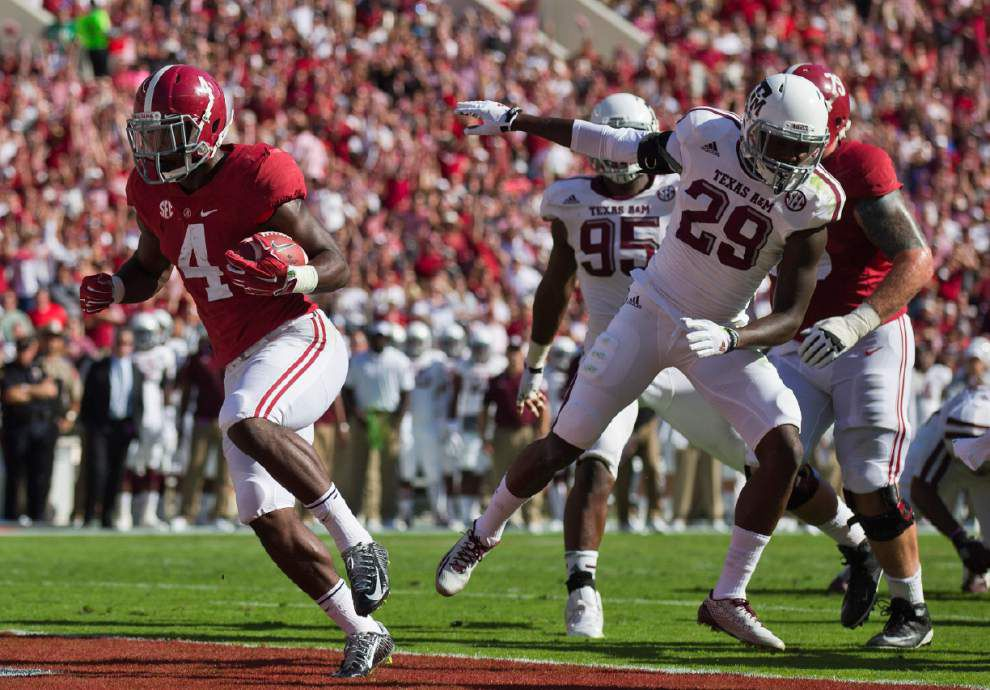 Sims, Yeldon spark No. 7 Alabama to 59-0 romp over Texas A&M _lowres