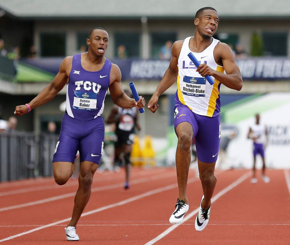 LSU men's track and field team poised to make run at national title Friday _lowres