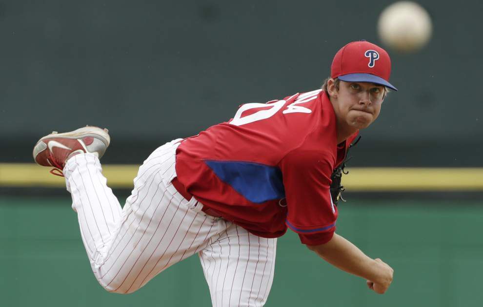 Aaron Nola set to play in Futures Game _lowres