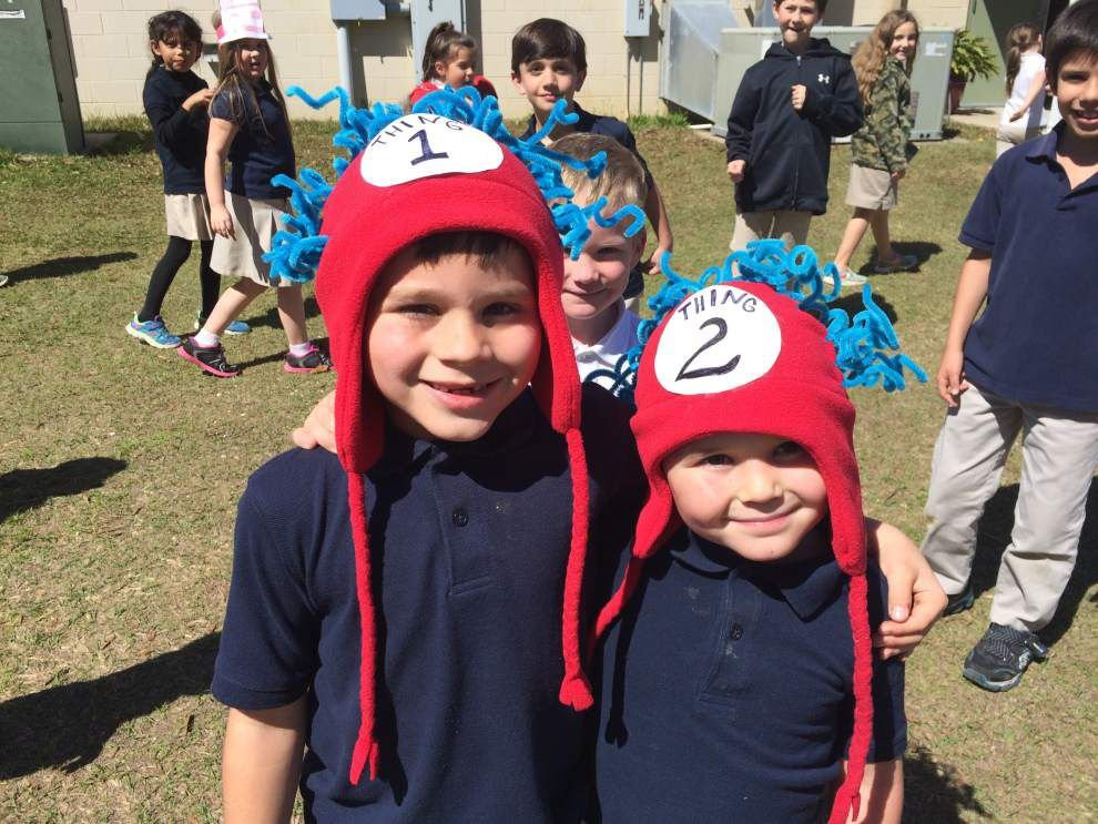 Seventh Ward students don hats for Dr. Seuss _lowres