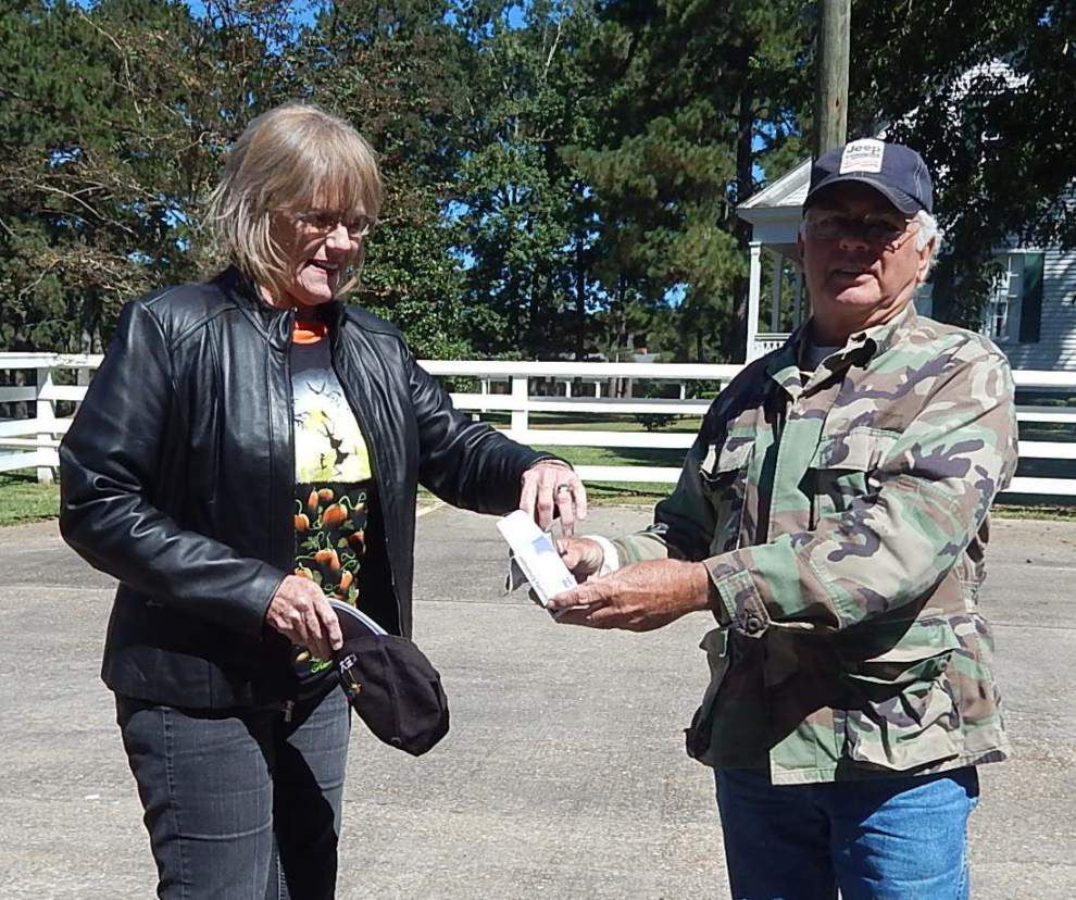 Motorcycle ride benefits horse rescue project _lowres