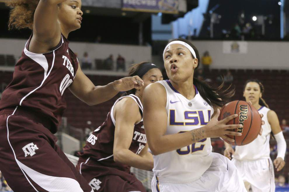LSU holds off Texas A&M to advance to SEC tournament semifinals _lowres