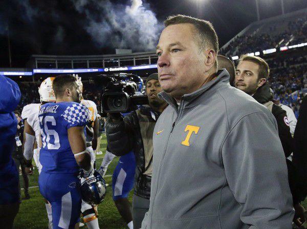 Tennessee fires Butch Jones: report