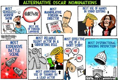 Walt Handelsman: Alternative Oscar Nominations...