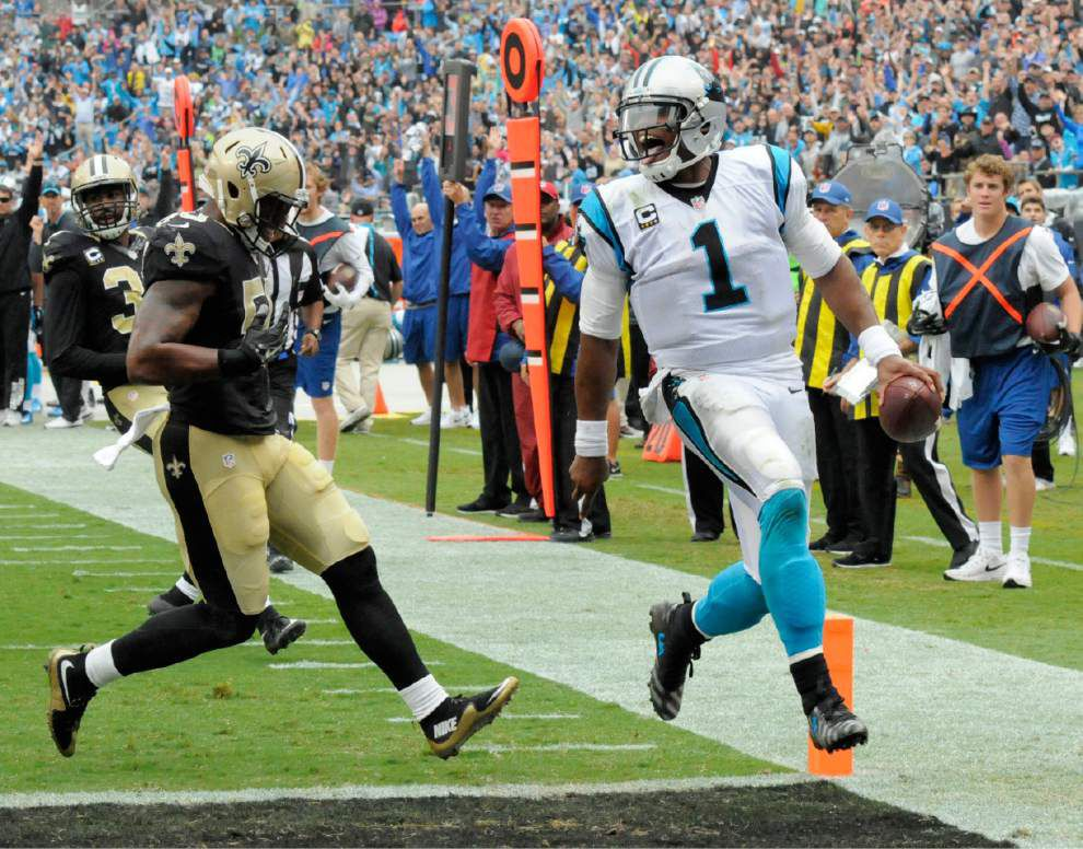 Luke McCown is solid but the defense takes a step back as the Saints lose 27-22 at Carolina to fall to 0-3 _lowres
