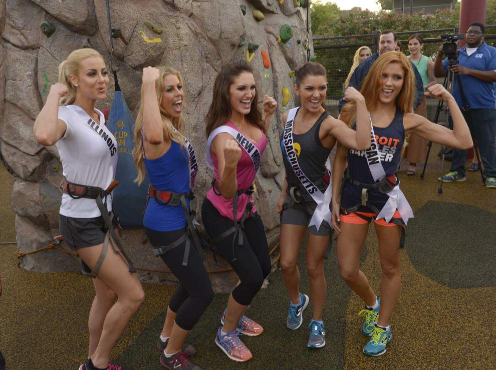 The show must go on: Miss USA contestants keeping positive attitudes despite massive fallout from Trump's comments on Mexican immigrants _lowres