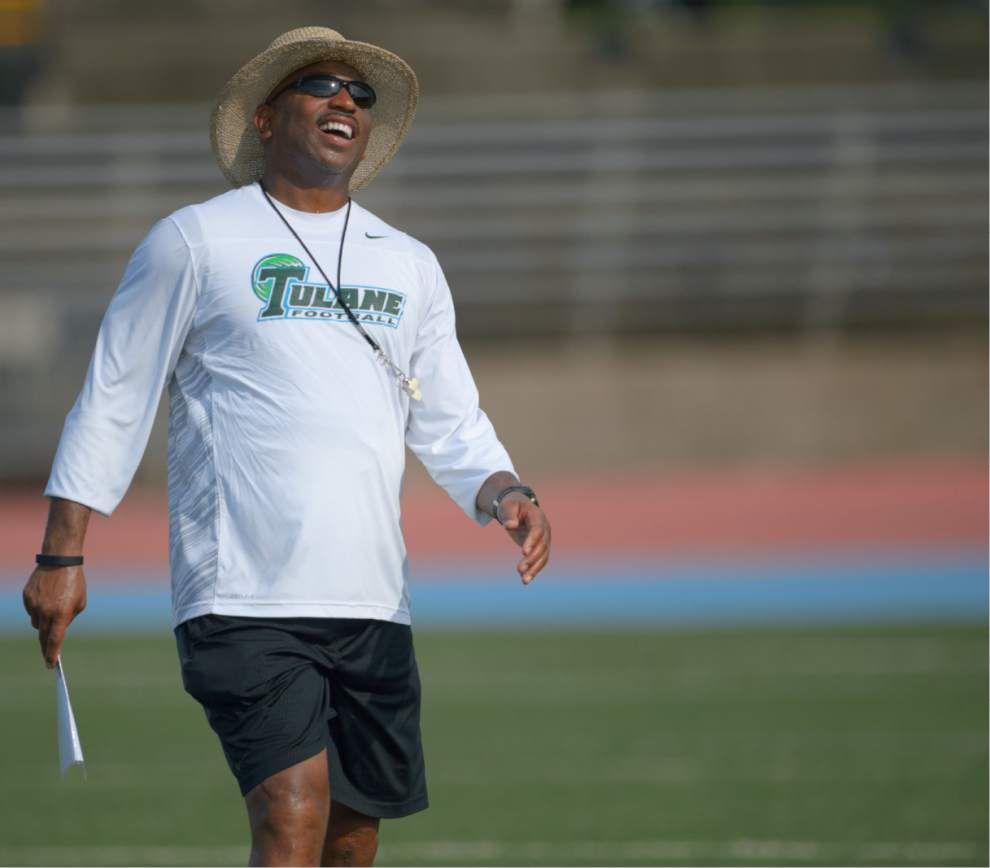 Tulane camp report: Defense, running backs get intense at practice _lowres