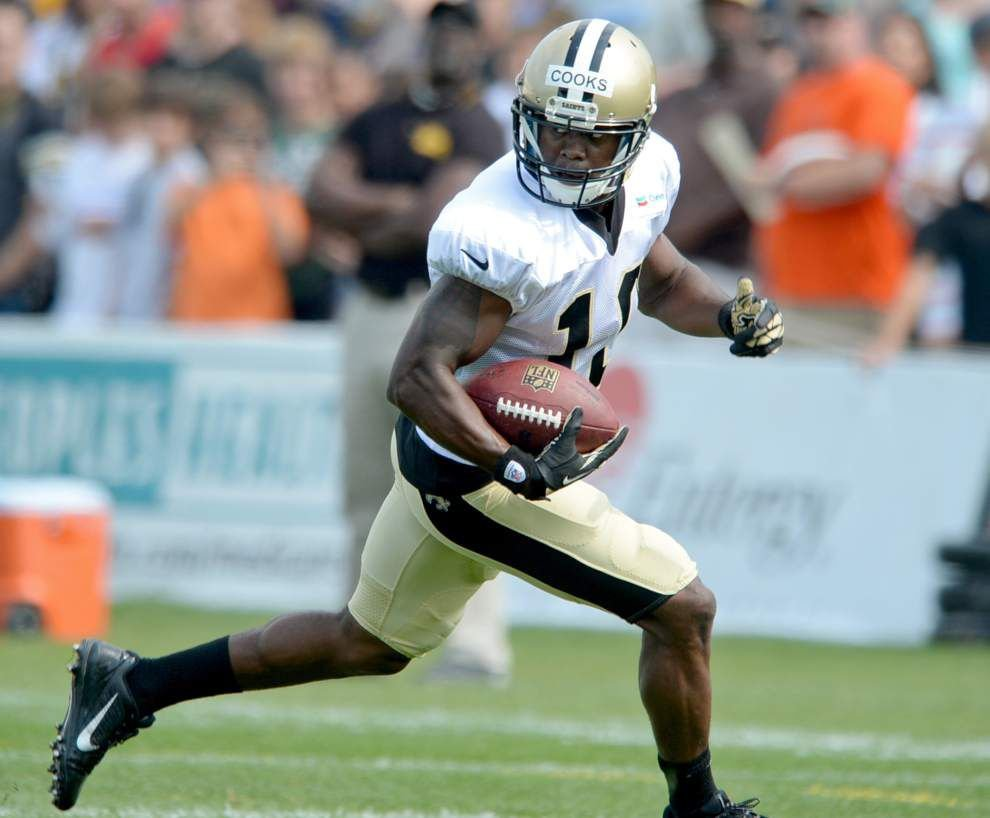 Camp Report: Brandin Cooks' quickness turning heads _lowres