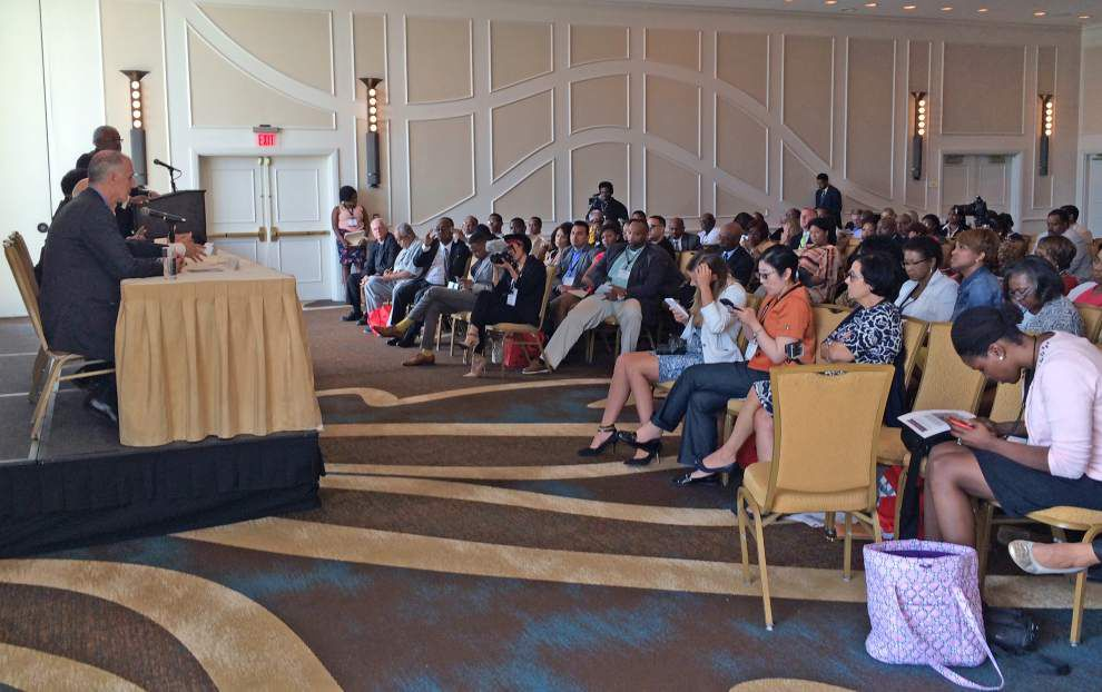 Panel in Baton Rouge pushes for reform of nation's criminal justice system _lowres