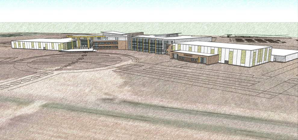 Lafayette School Board gets first look at preliminary designs of new high school in Youngsville _lowres