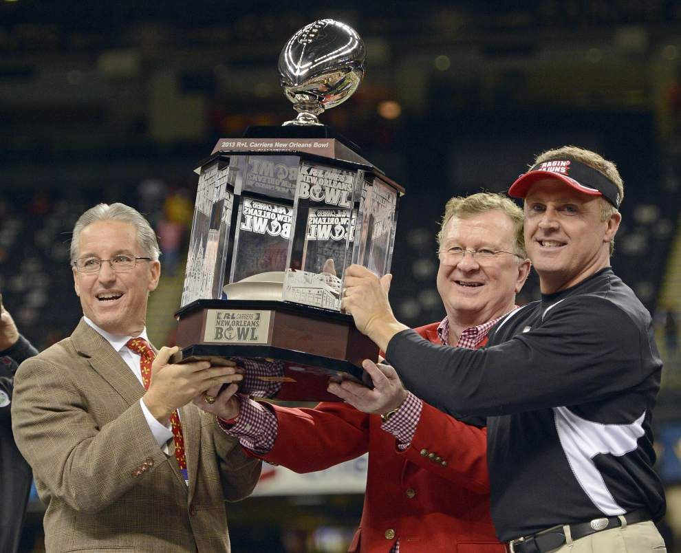 Video: Hudspeth thankful for yet another New Orleans Bowl win _lowres