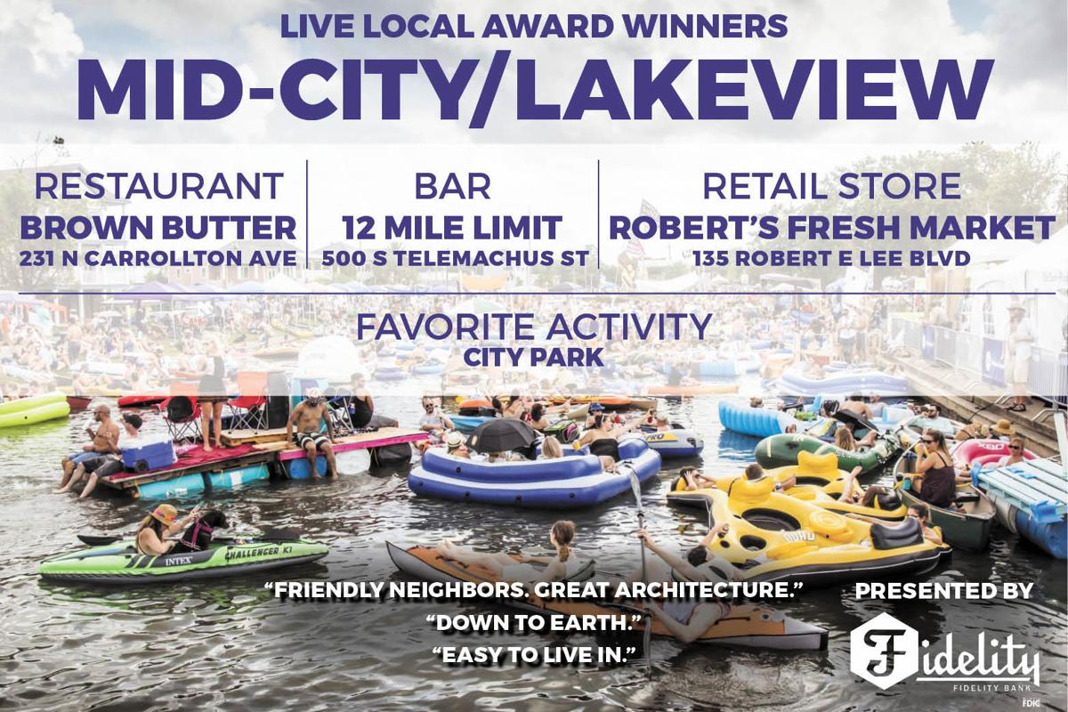 Live Local Awards - Mid-City/Lakeview Winners