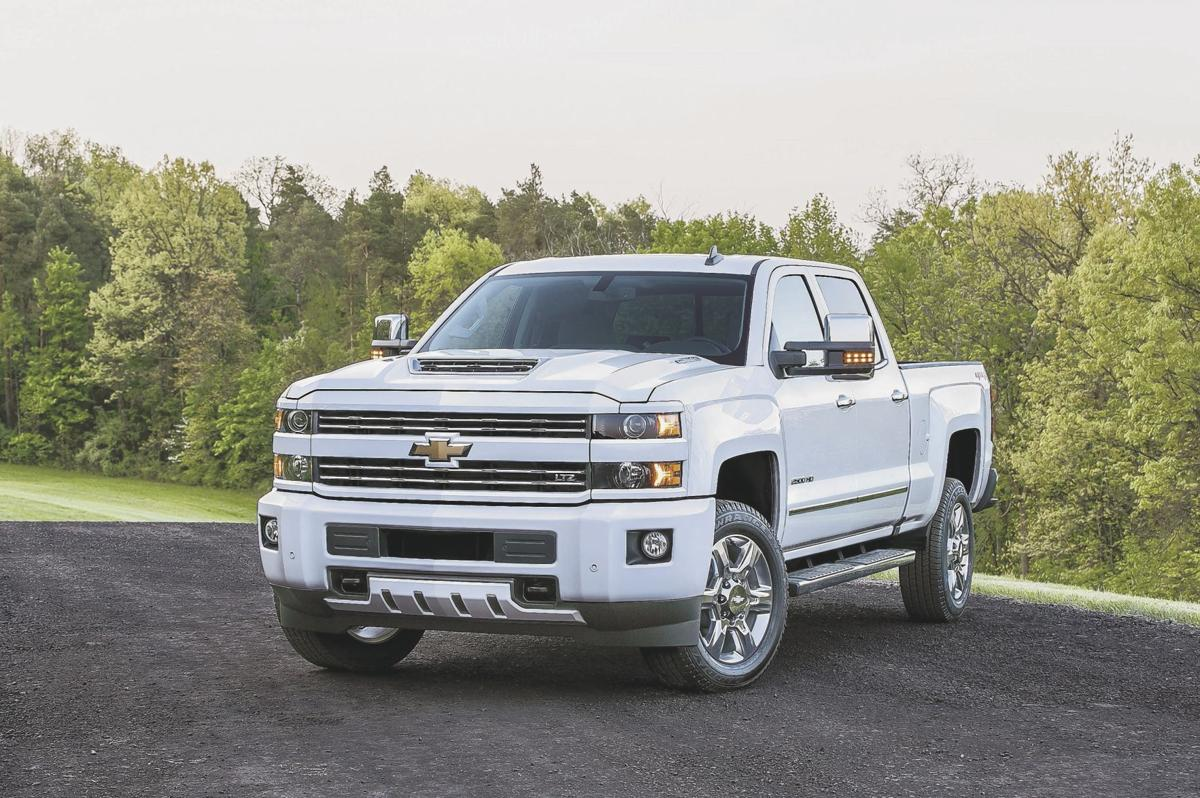 Chevy Silverado 2500HD front view