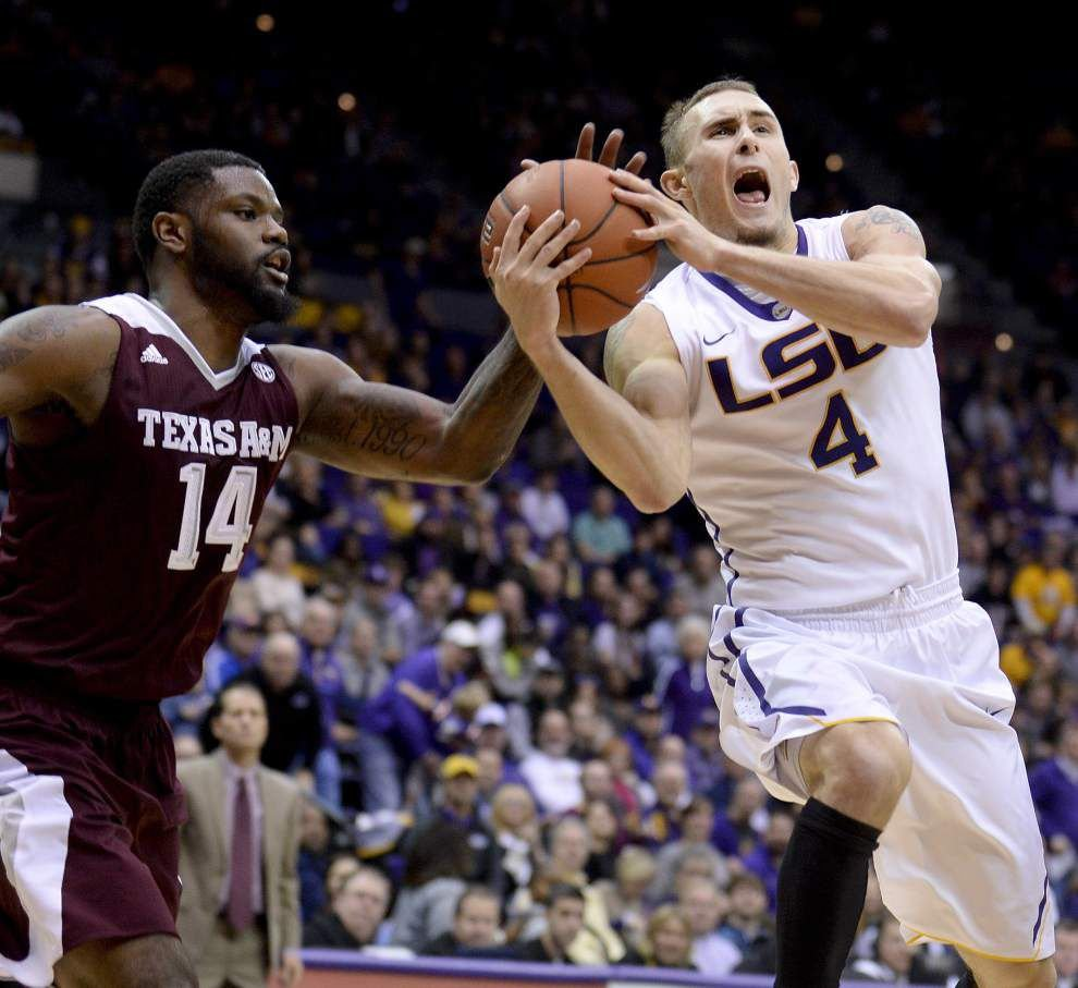Video: LSU guard Keith Hornsby says the Tigers had shots they were capable of making in the Texas A&M loss _lowres