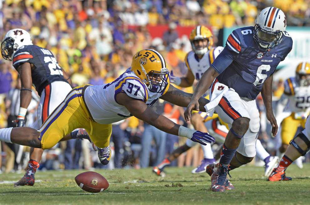 Defensive line duo Greg Gilmore, Frank Herron finally making big plays LSU always expected _lowres