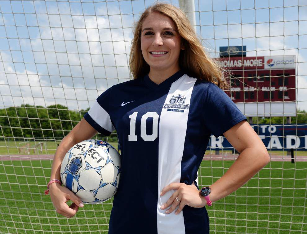 Acadiana All-Metro Girls Soccer team: St. Thomas More's Katherine Whitman named Player of the Year _lowres