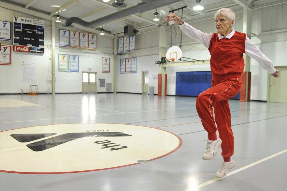 'Fitness is a way of life': Mary Elizabeth Norckauer, 90, still racking up Senior Olympic gold medals _lowres