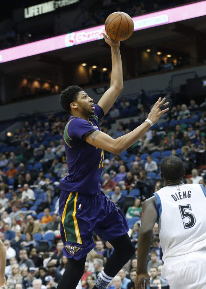 Pelicans' Anthony Davis enjoyed rare rest in win _lowres