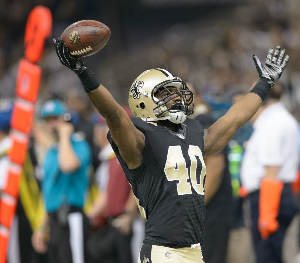 Emerging Saints cornerback Delvin Breaux made a statement by acing