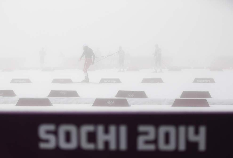 Monday's highlights from the Sochi Olympics _lowres