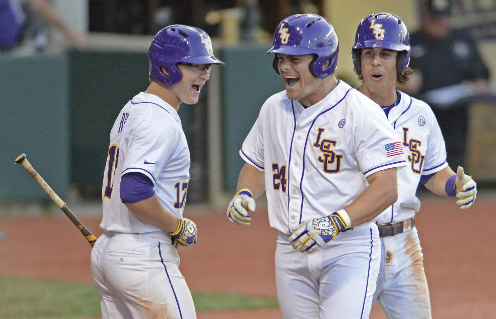 Seven-run third inning buoys short rest masterpiece from Jared Poché in LSU's 13-4 rout of Vanderbilt _lowres
