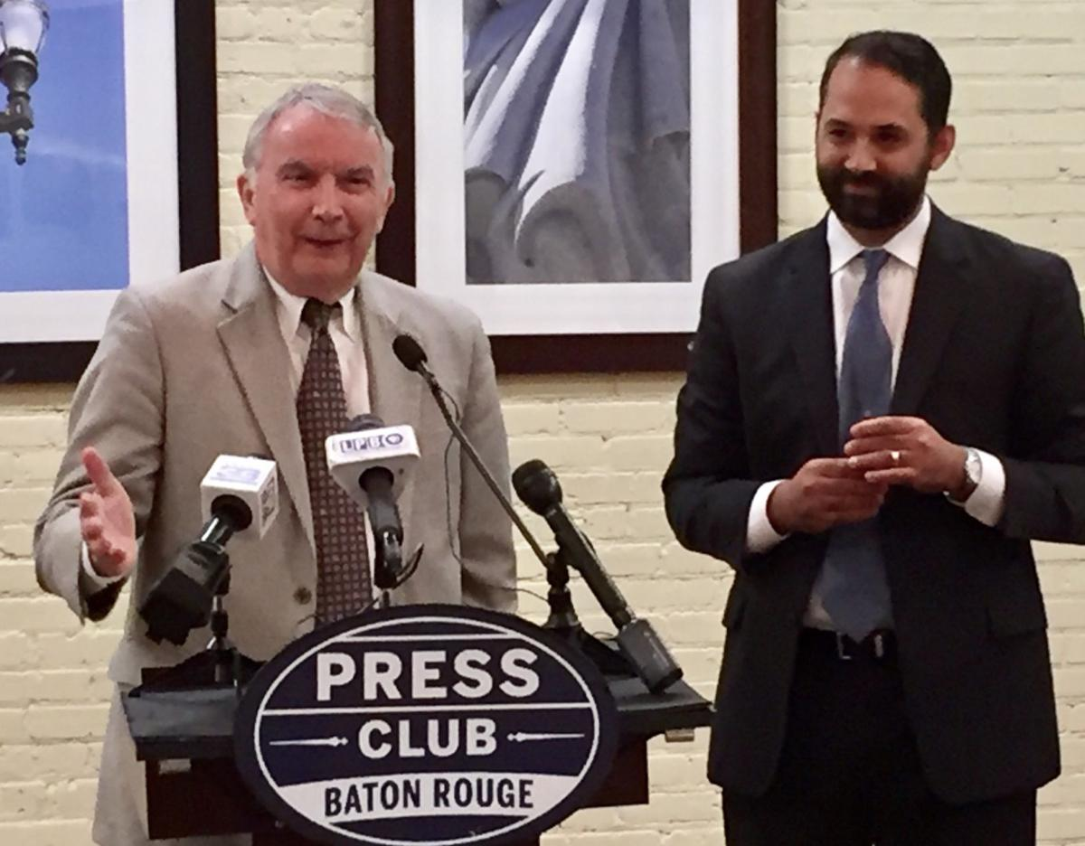 Jim Richardson, Jared Llorens at Press Club