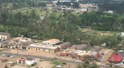 Ruston tornado damage