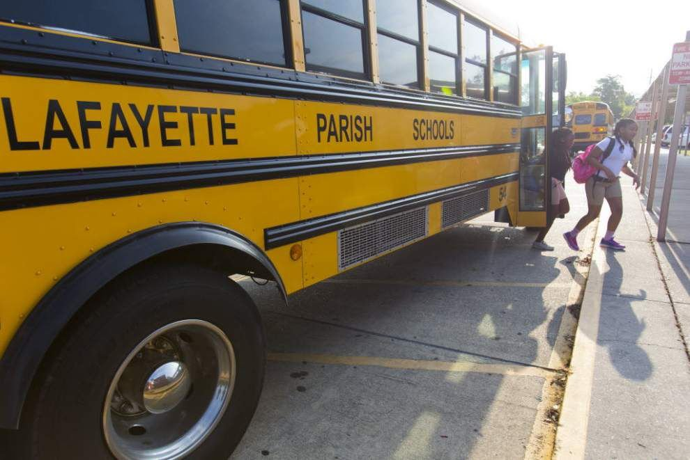 Lafayette policy change helping to fill school bus driver slots _lowres