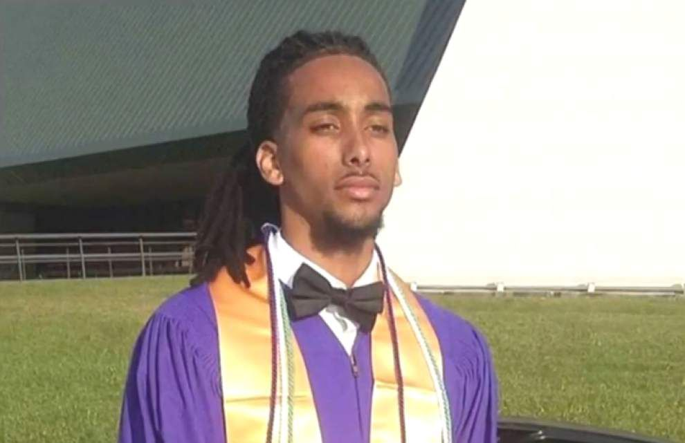 Report: Rally forming for Amite valedictorian banned from graduation for unshaven goatee _lowres