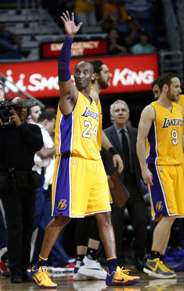 Rod Walker: Love him or hate him, this much is clear — NBA fans respect Lakers icon Kobe Bryant _lowres