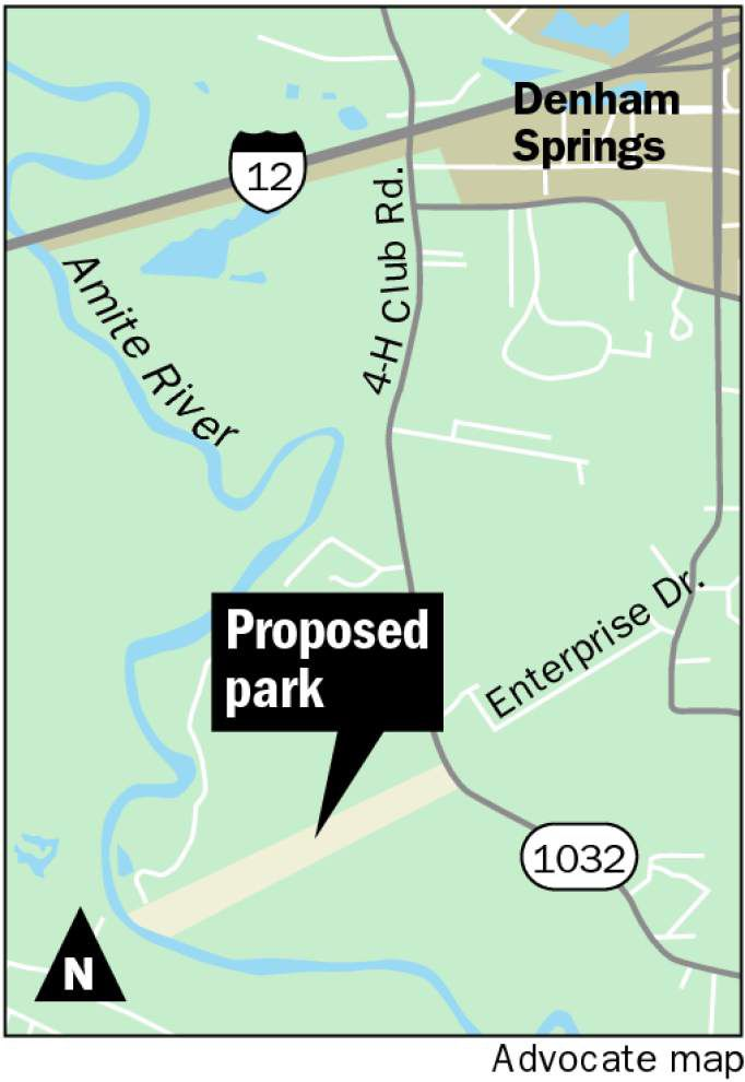 Denham Springs' plans for park on the banks of the Amite River take another step toward reality _lowres