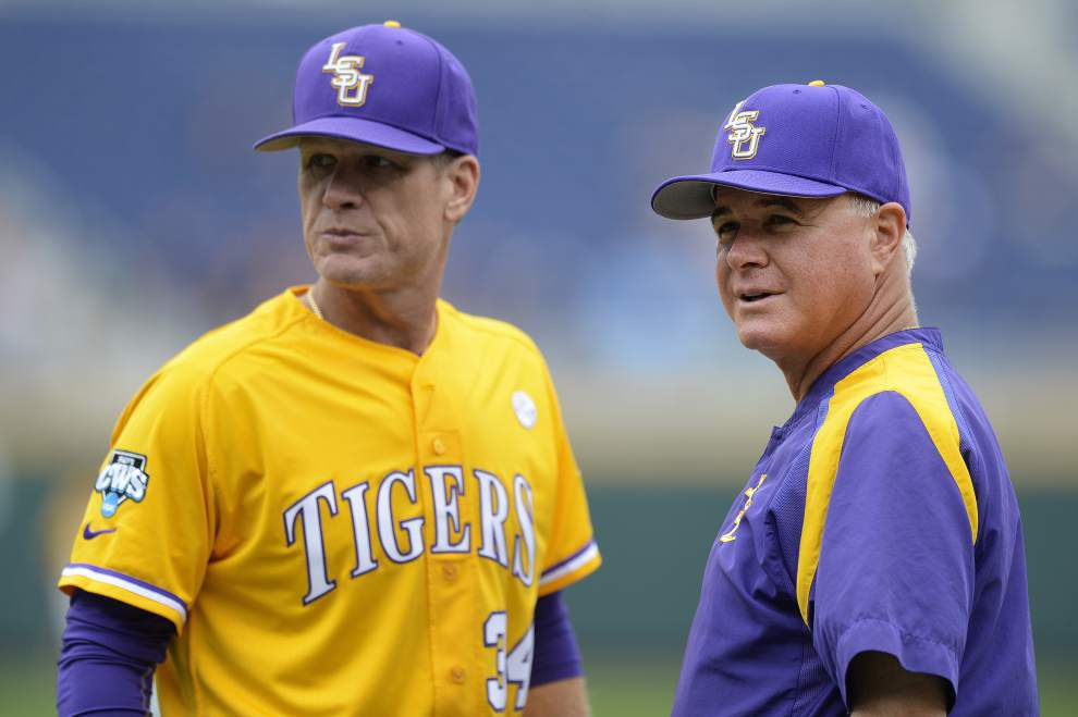 Photos: The Tigers make it to Omaha, take the field at the College World Series _lowres