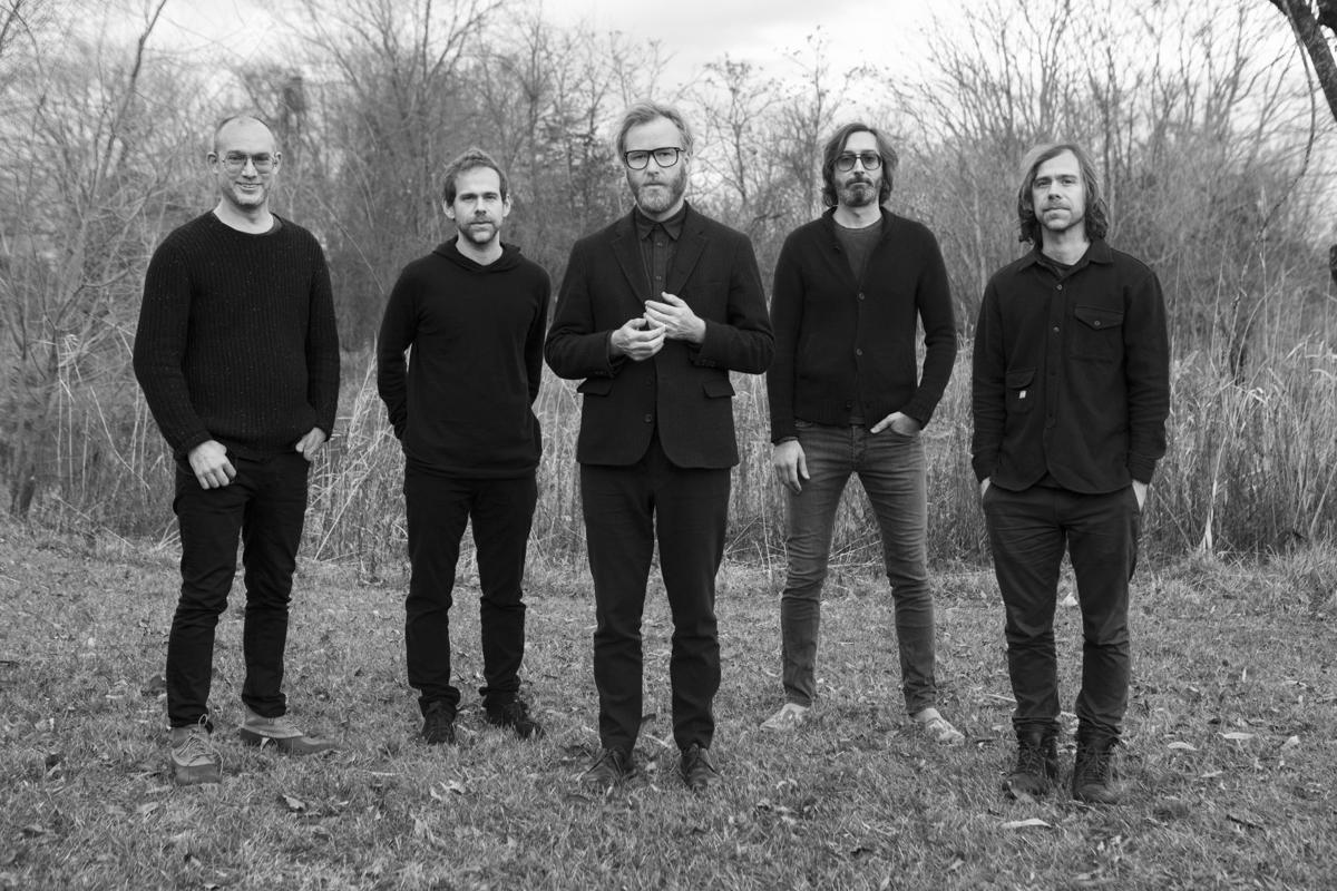 The National press shot for Red