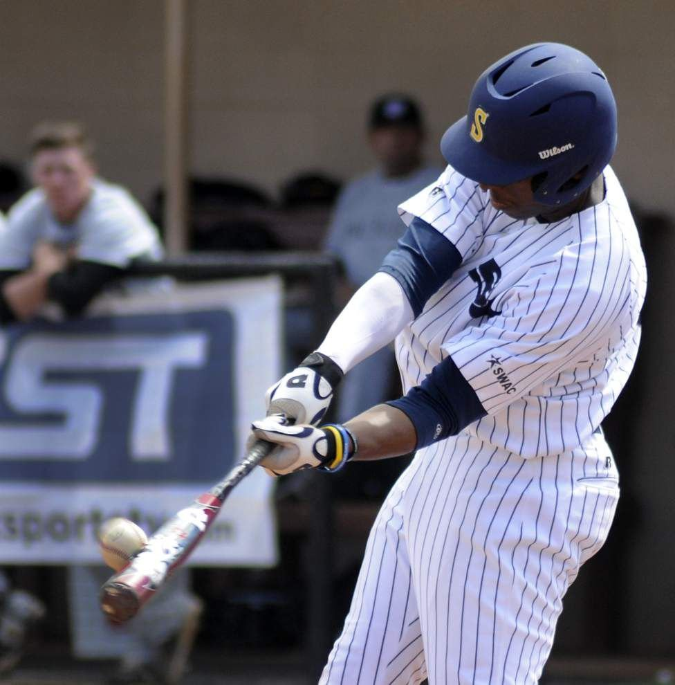 Southern baseball team finally returns to diamond with doubleheader vs. Arkansas-Pine Bluff _lowres