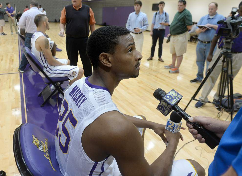 Video: LSU forward Jordan Mickey says the Tigers have to do a better job of rebounding _lowres