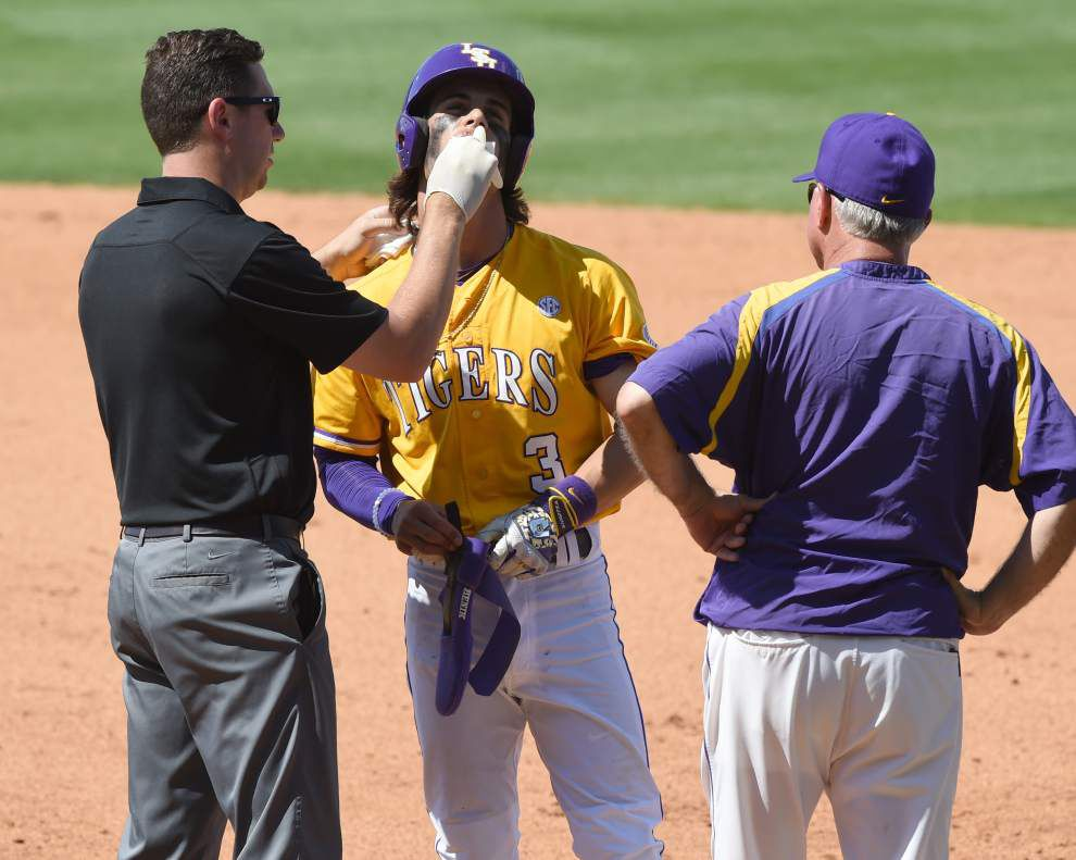 Scott Rabalais: Kramer Robertson's toughness topped it all — even the 'Rally Possum' — as LSU wrapped up a wild sweep of Arkansas _lowres