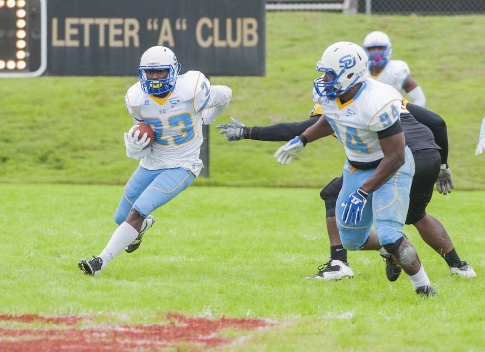 Austin Howard's four TD passes help Southern bounce back to rout Arkansas-Pine Bluff 57-24 _lowres