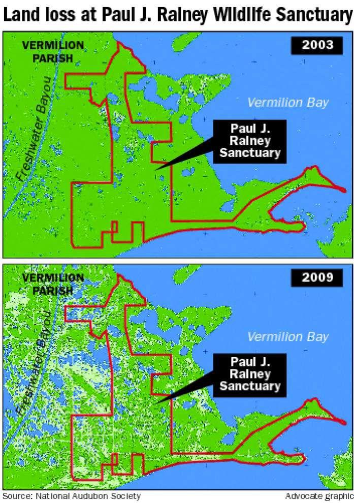 Audubon innovative in fight to rebuild bird sanctuary after Hurricanes Rita, Ike _lowres