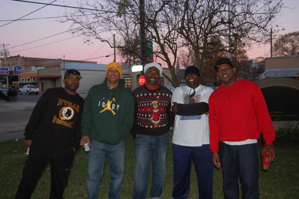 Donaldsonville Christmas parade utilizes ugly sweater theme _lowres