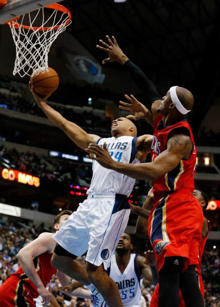 Pelicans fall 102-93 in Dallas to snap 5-game winning streak _lowres