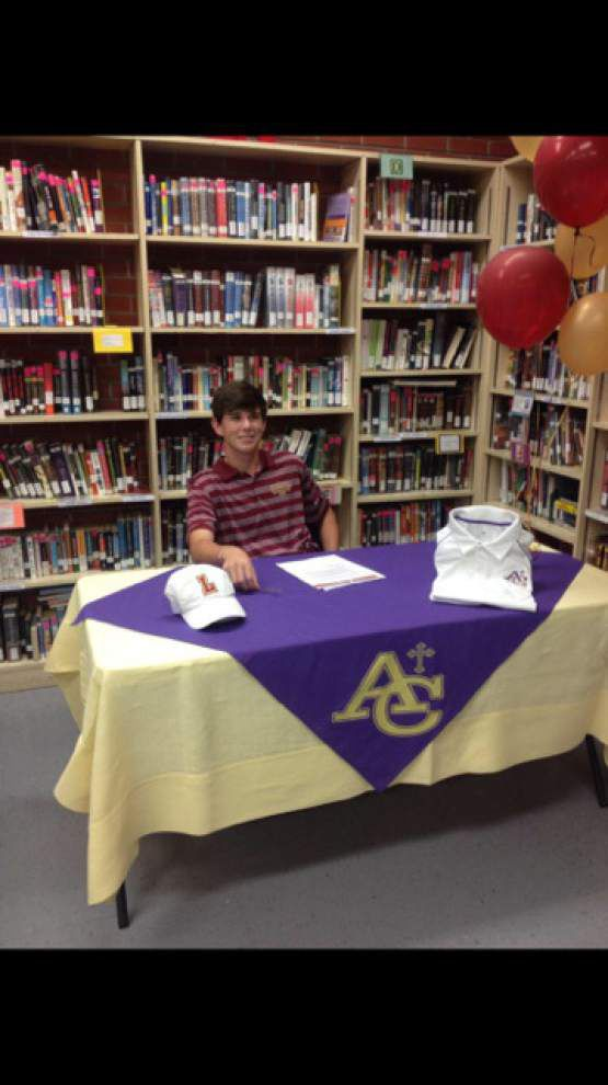 Ascension Catholic athletes sign letters of commitment _lowres