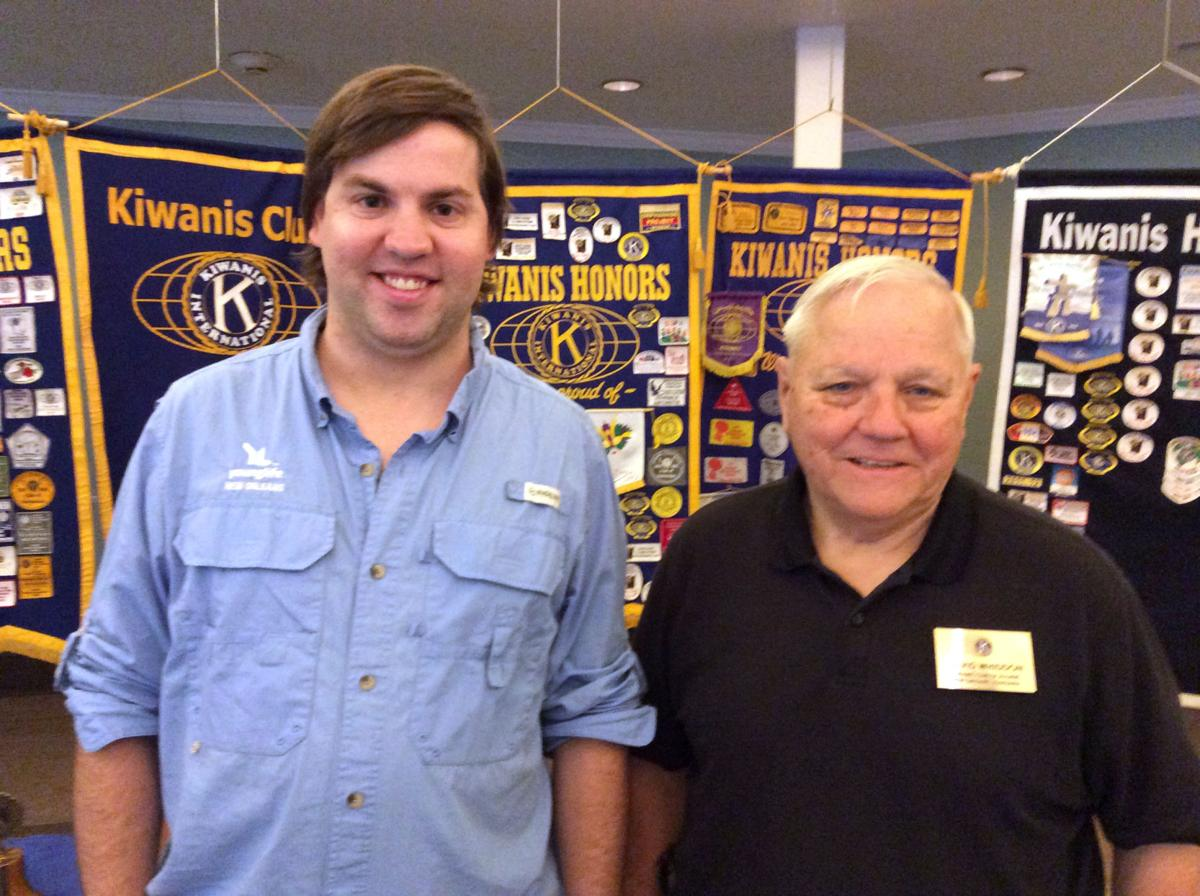 Kiwanis Club of Algiers learns about Young Life programs