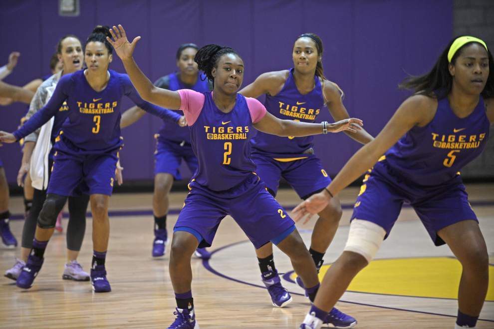 LSU women's basketball team to sport different look this season _lowres