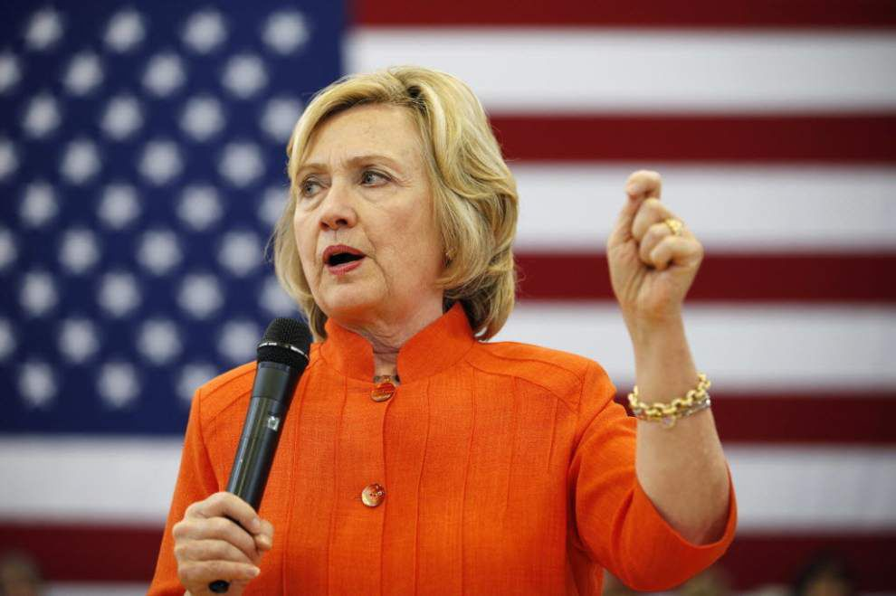 Hillary Clinton coming to Baton Rouge next month to campaign _lowres