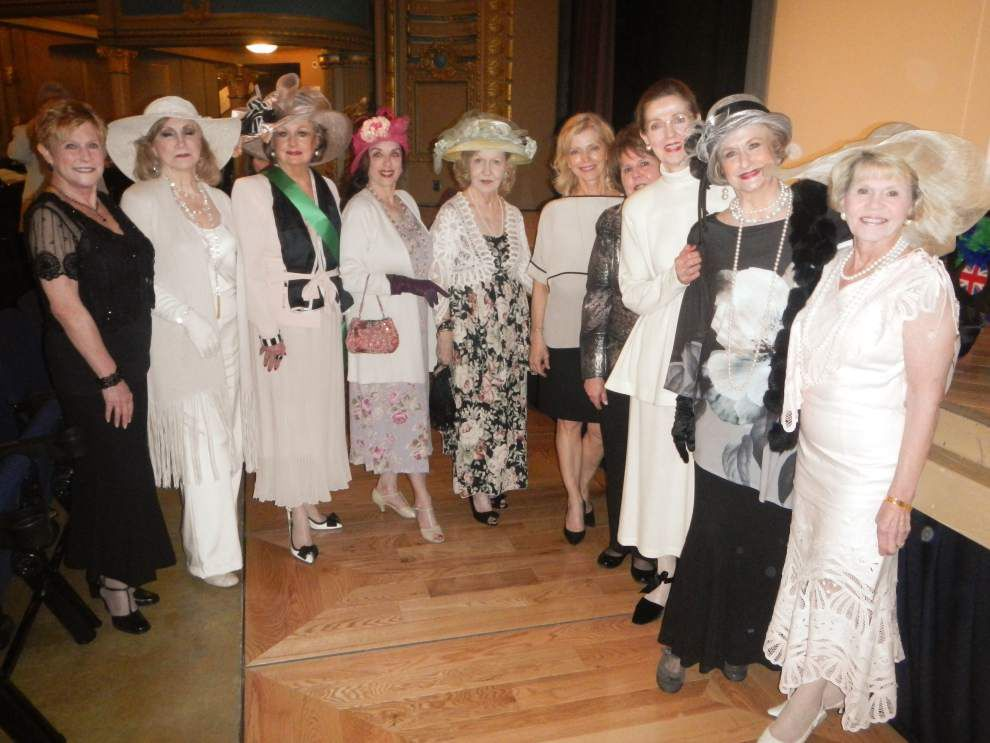 GOP women's group members participate in WYES 'Downton Abbey' event _lowres