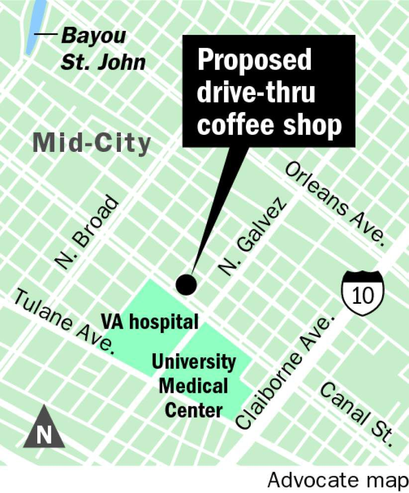 Planned drive-thru coffee house on Canal Street to be oddly unique addition in New Orleans _lowres