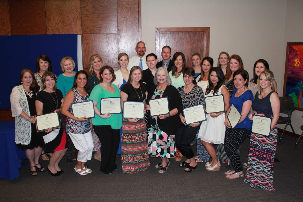 Livingston Parish schools honor top principals, teachers _lowres