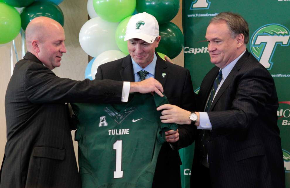 Walker: Take a deep breath, Willie Fritz — you've got a program to rescue at Tulane _lowres