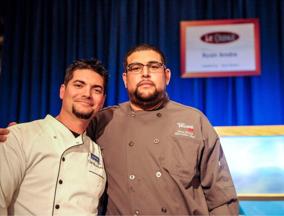 Chef Aaron Burgau crowned King of Louisiana Seafood _lowres