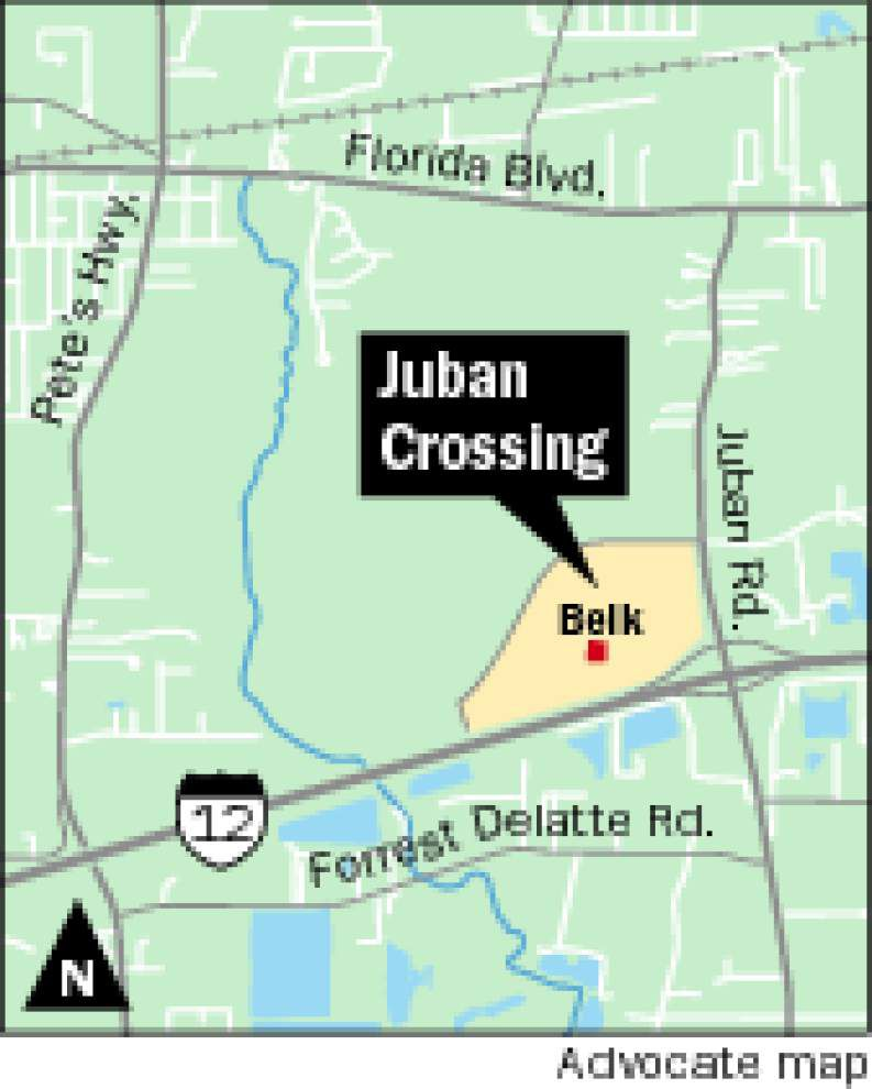Belk in Juban Crossing opens Wednesday, others stores to open soon _lowres